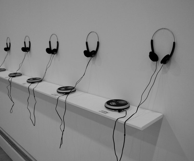 AES-256 sound installation by Stephane Leonard