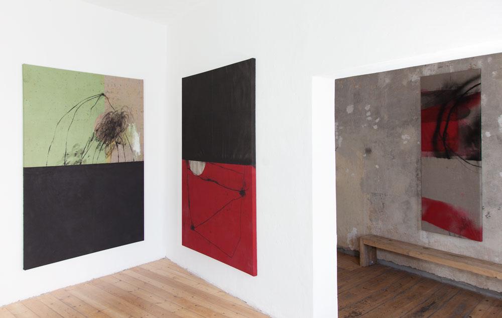 Stephane Leonard / Neid fressen Seele auf / solo show at Okazi gallery Berlin 2014