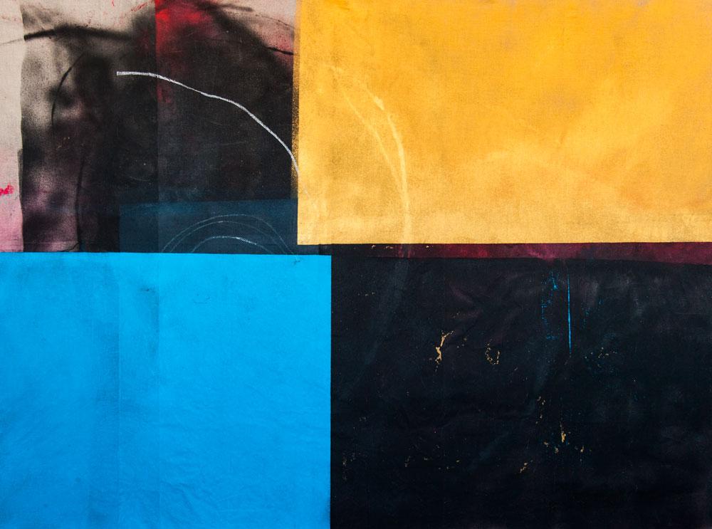 Stephane Leonard / ot / acrylic and oil on canvas / 310 x 200 cm / 2014