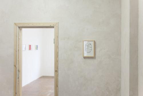 Stephane Leonard / Chasing A Ghost / installation view / Projektraum 404, Bremen / 2015