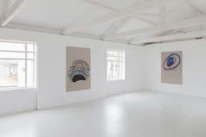 Installation view of the Trauma exhibition at Maus Habitos in Porto 2015