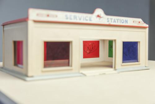 Stephane Leonard - withdrawal - Art Service Station - 2016