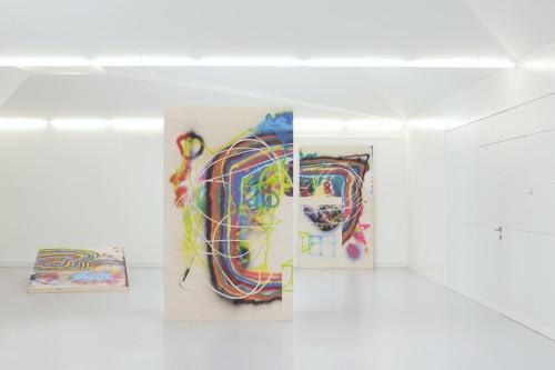 Stephane Leonard - Inseln - Installationview 2016