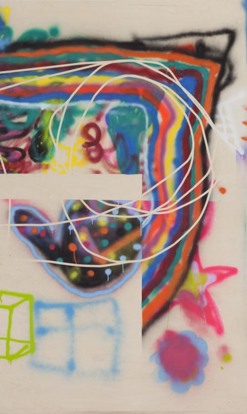 Stephane Leonard - Inseln - 250x150cm - 2016